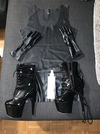 Fetish PVC Latex Set *Never Worn* from Northbound Leather  Toronto, M5B 1T1