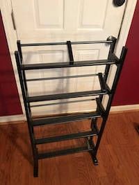 black metal 5-layer rack 70 km