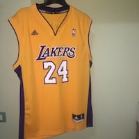 NBA Los Angeles Lakers Kobe Bryant 24 Maglia Maglia Napoli, 80136