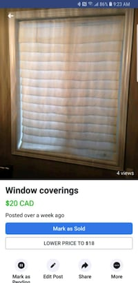 Window coverings fabric