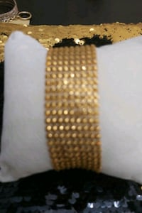 Bracelet/ choker Gold plated