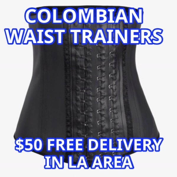 7e0ae5be7b6 Used black Colombian waist trainer for sale in Burbank - letgo