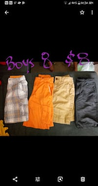 four assorted color shorts and black shorts Corryton, 37721