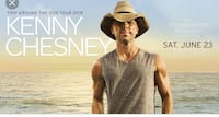 SELLING ONE TICKET TO KENNY CHESNEY!!! Phoenix, 85022
