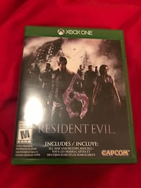 Resident Evil 6 (Incredible Deal! — Xbox One) Toronto, M2N 2A2