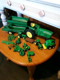 John Deer tractors and Trailers