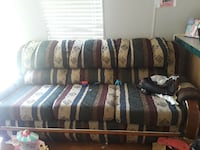 Green and tan couch and loveseat  Wilmer, 36587