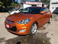 2012 Hyundai Veloster Certified/Accident Free/Backup Camera Scarborough, ON M1J 3H5, Canada