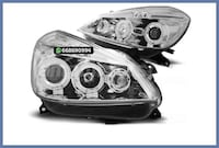 FAROS ANGEL EYES H1 CLIO 05-09 CROMO MADRID