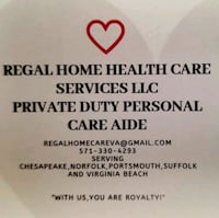Personal in home care Portsmouth
