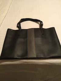 Vince camuto black and brown tote bag.