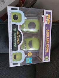 Kang and Kodos SDCC Shared Exclusive Funko Pop Kitchener, N2A 4J7