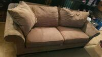 brown suede 2-seat sofa Cayce, 29033