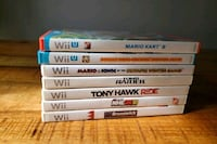 Wii u and Wii games for sale. Make me an offer Dartmouth, B2W 1R6