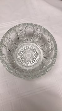 "crsytal glass bowl7""x31/2 ""fruit bowl  College Station, 77845"