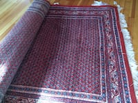 Red blue white area rug Taunton, 02780