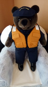 "20"" tall Coast Guard bear. Excellent condition. Nice details"