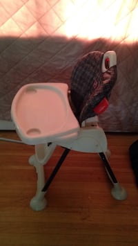 white and red high chair Edmonton, T5M 3B2
