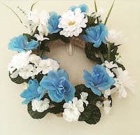 Handmade wreath Saddle Brook, 07663