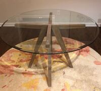 Modern Round Dining Table SILVERSPRING