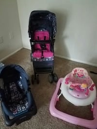 baby's black and pink travel system Columbia, 21044
