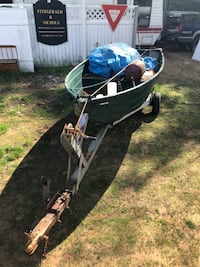 Row Boat and trailer