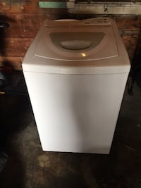 white top-load clothes washer Fall River