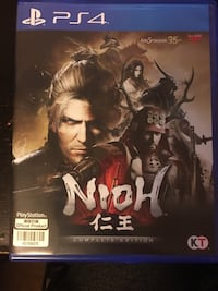 PS4 NIOH complete edition 米西索加, L5R 3G4
