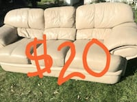 Leather Couch Today! Need gone tonight! La Vista, 68128