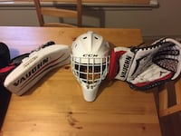 Mask SOLD. Blocker & Glove $149.0 Edmonton, T6A