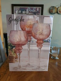 Set of 3 hurrican candles  Poughkeepsie