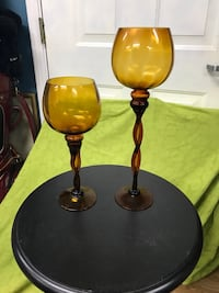 Set of gold colored glass Simpsonville, 29681