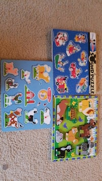3 Melissa and Doug puzzles