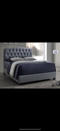 Brand new in box! King urban linen tufted bedframe Escondido, 92025
