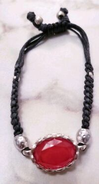 black and silver beaded necklace Layton, 84040