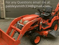 Tractor Loader Mower and Backhoe Kubota ALBUQUERQUE