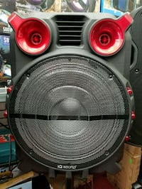 """15"""" rechargeable battery bluetooth speaker availab Los Angeles, 90014"""