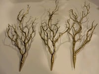 25 gold artificial Manzanita branches Aldie, 20105