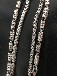 "28"" sterling silver necklaces Baltimore, 21222"