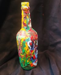 Multi Colored Bottle