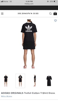 Adidas t shirt dress  Mississauga, L5L 2R7