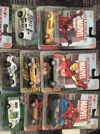 Marvel toy car set 9/10 condition  Surrey
