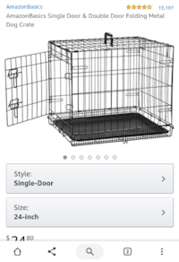 Dog Crate (Used) McLean