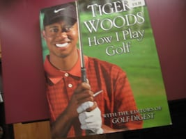 Tiger Woods - Hard Cover Book - How I Play Golf