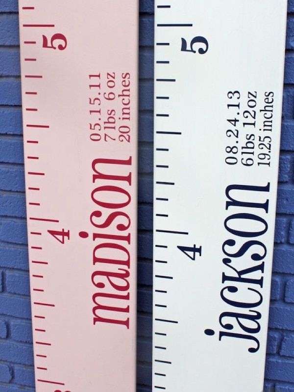 Used Wooden Ruler Growth Chart For Sale In Haltom City Letgo