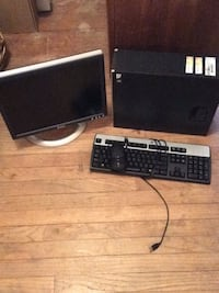 Monitor, tower, and keyboard and mouse 374 mi