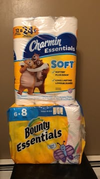 Bounty and Charmin paper set Hamburg, 14075