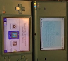 Dsi + charger and two games