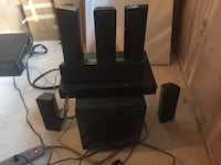 black home theater system Airdrie, T4B 0P3