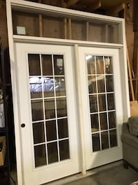French door style unit, hinged with right side open  Falls Church, 22042